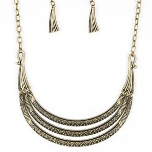 5 for $25 Brass Necklace and Earrings